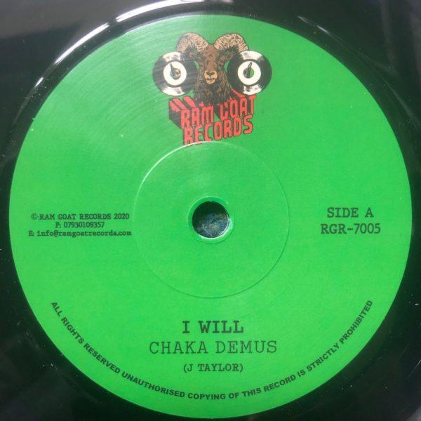 Chaka Demus I Will 7 vinyl
