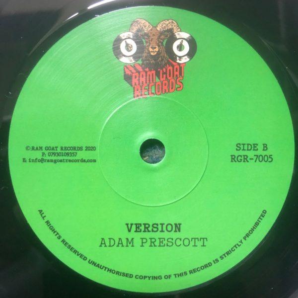 Adam Prescott I Will version 7 vinyl