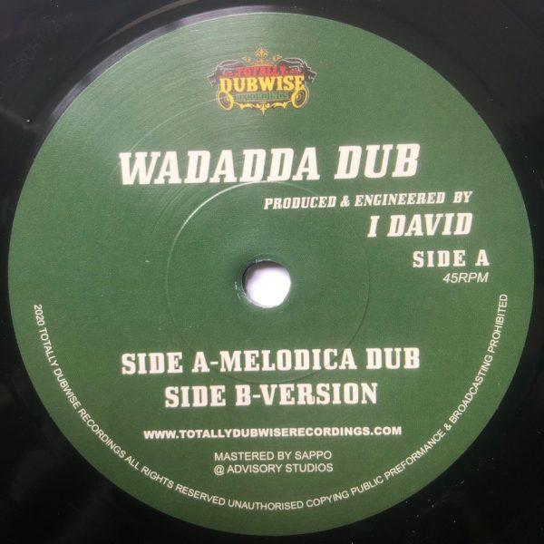 I David Wadadda Dub 7 vinyl