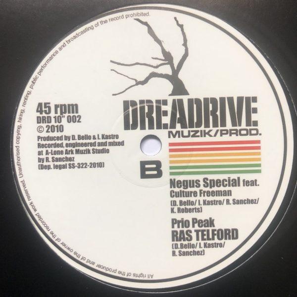Ras Telford Prio Peak 10 vinyl