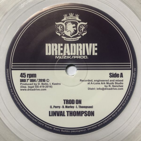 Linval Thompson Trod On 7 vinyl