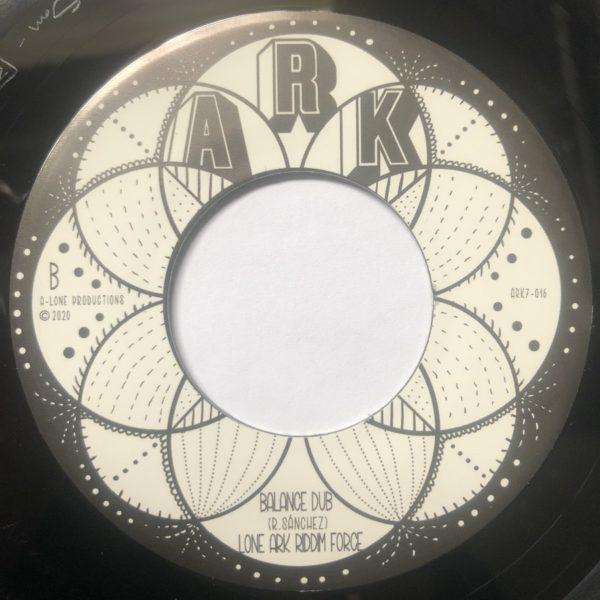 Ras Tweed Balance Dub 7 vinyl