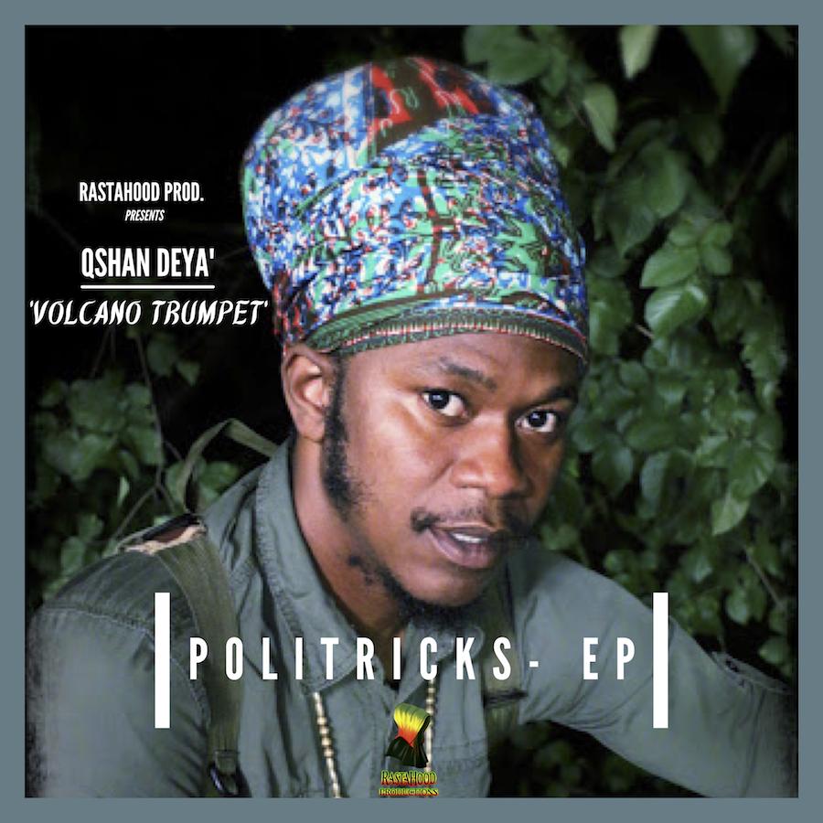 Qshan Deya Politricks EP CD