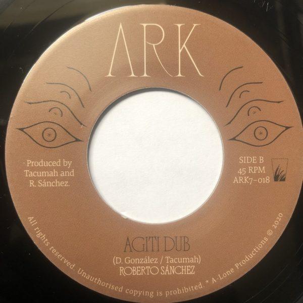 Tachuma Agiti Dub 7 vinyl