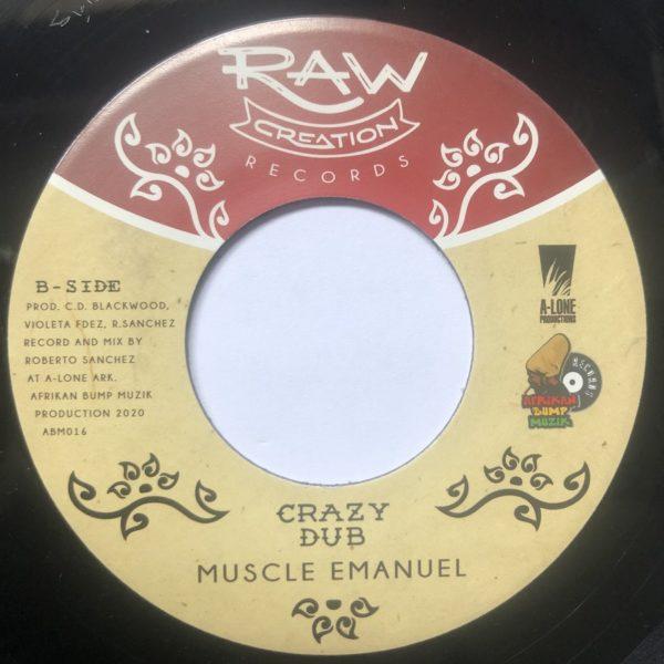Muscle Emanuel Crazy Dub 7 vinyl