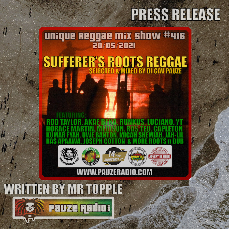 Sufferers Roots Reggae Press Release