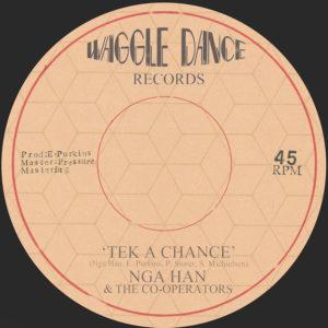 "Nga Han Tek A Chance 7"" vinyl"