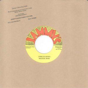 Mykal Rose African Queen 7 vinyl