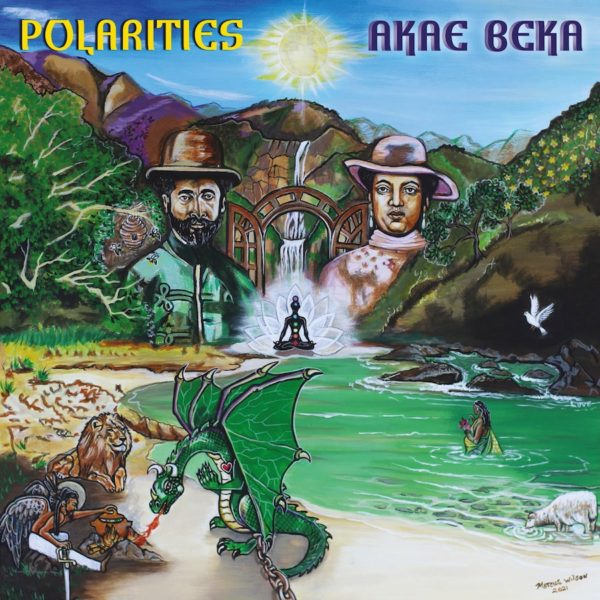 Akae Beka Polarities 12 vinyl LP