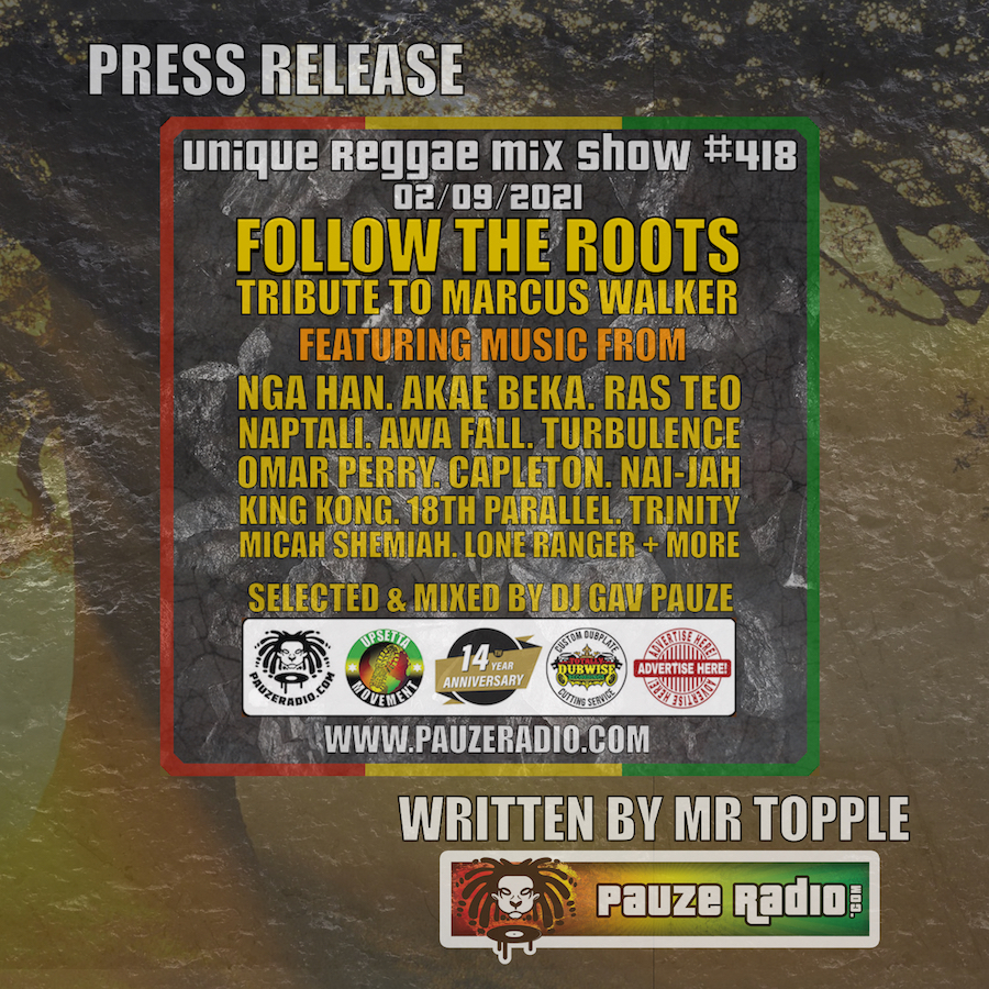 Follow The Roots Press Release